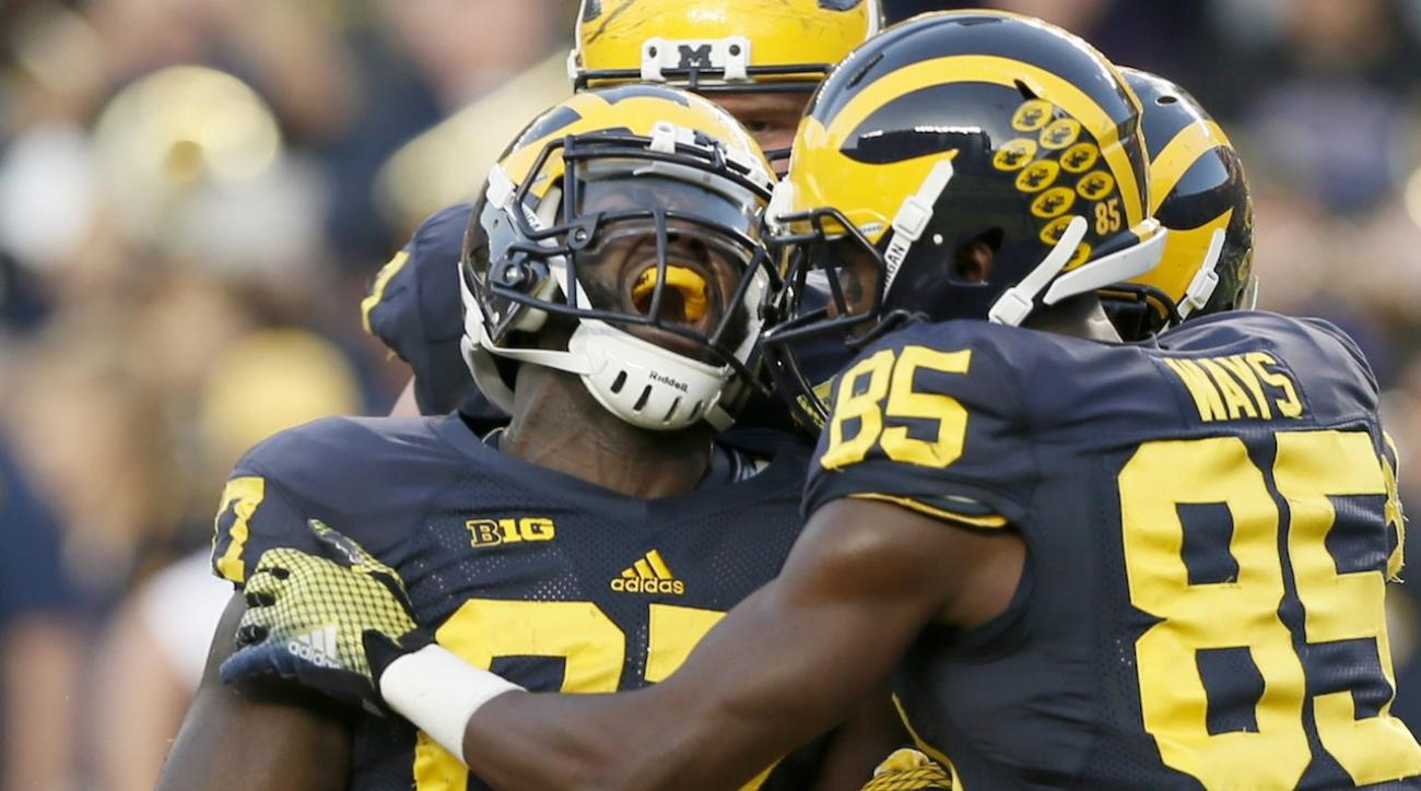 michigan wolverines, NCAAF. Oklahoma State Cowboys, oklahoma sooners, power rankings, college football rankings, sports illustrated, college football