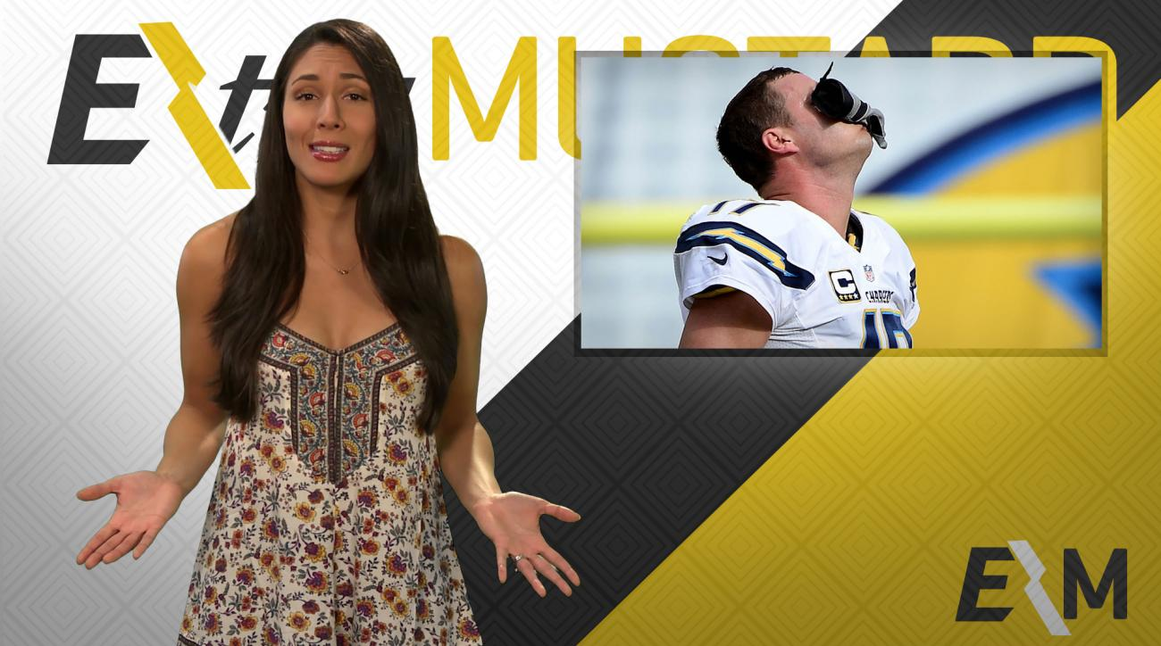 Mustard Minute: Did Philip Rivers punch a bird or his glove? IMG