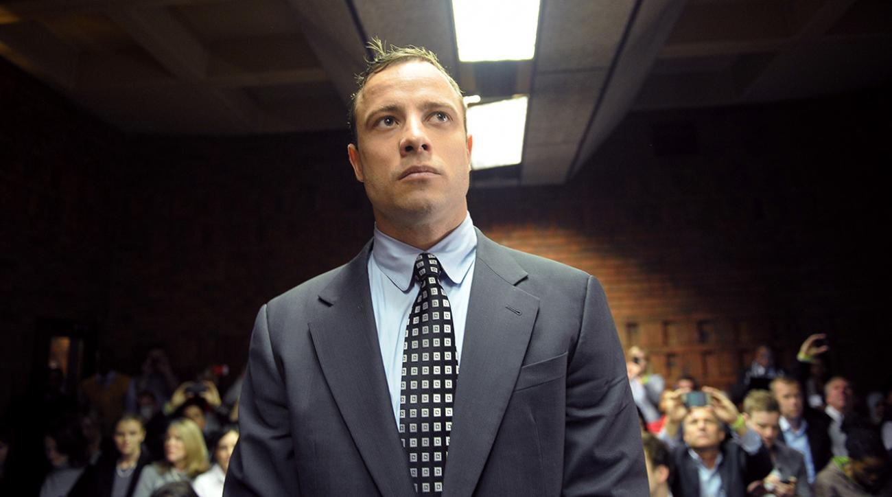 Double amputee Olympian Oscar Pistorius released from jail IMAGE