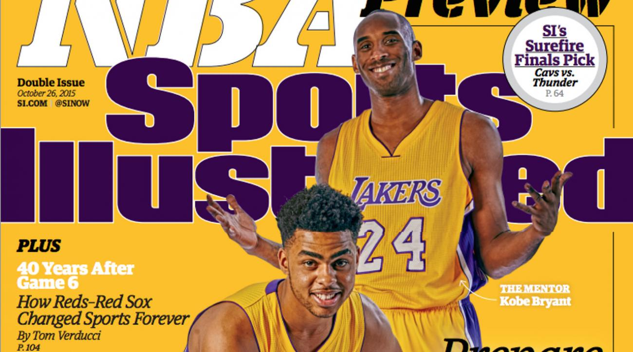 2015-16 NBA preview lands cover of Sports Illustrated