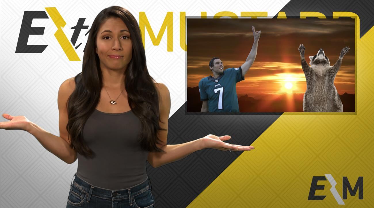 Mustard Minute: Will the Philadelphia Eagles prosper thanks to a raccoon? IMG