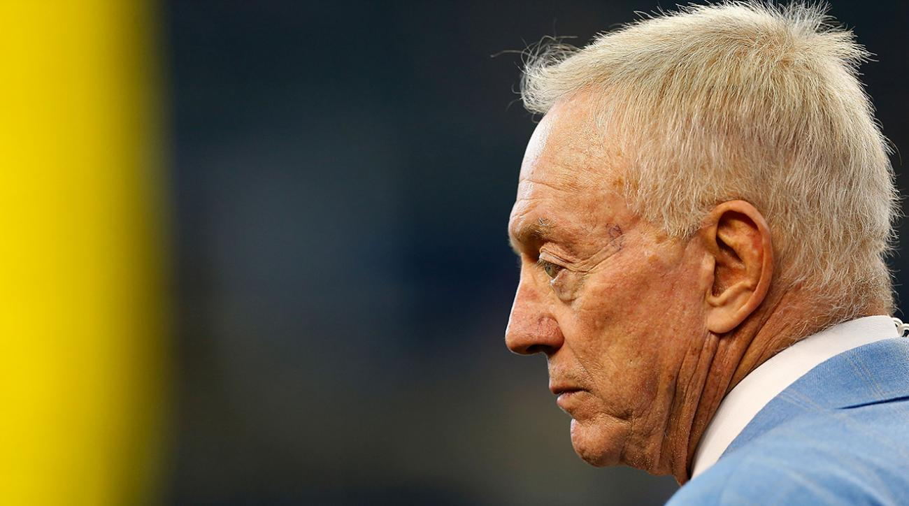 DraftKings stakeholder Jerry Jones defends daily fantasy sports