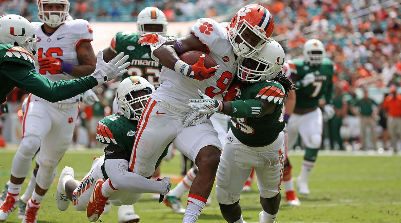 clemson tigers, ncaaf, power rankings, si video, college football, college football rankings, utah utes, sports illustrated
