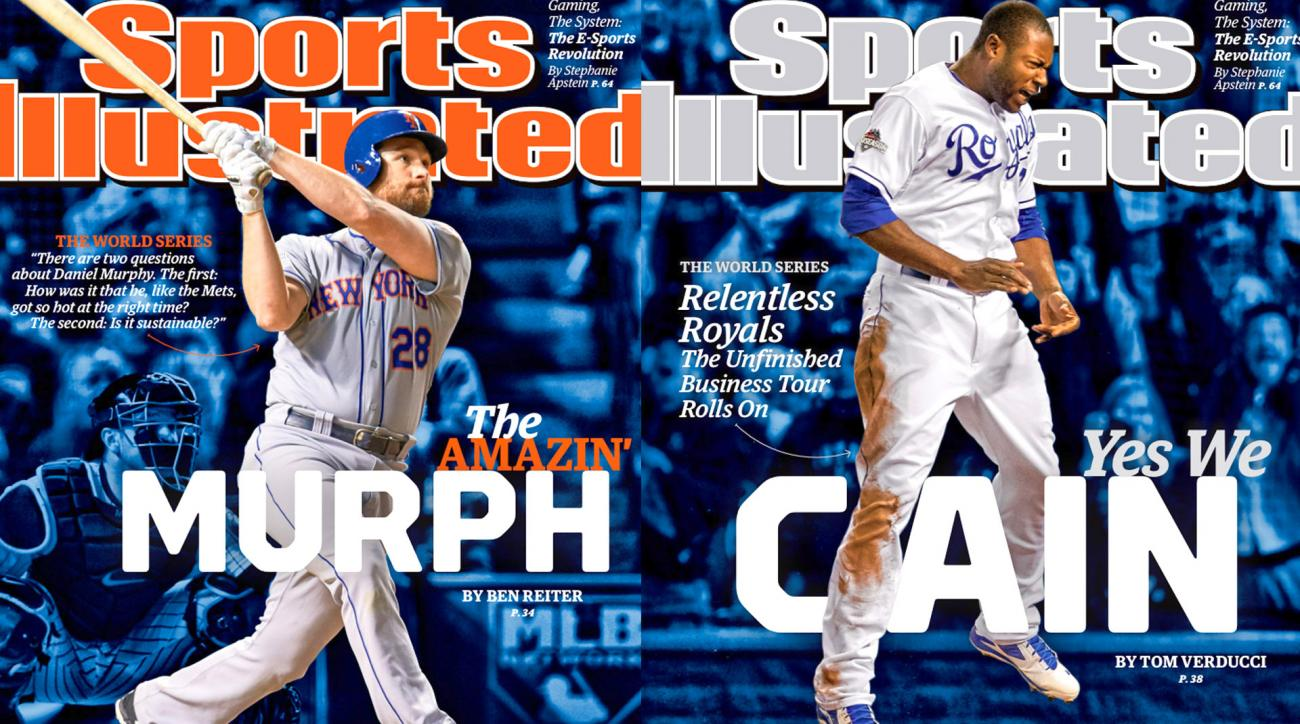 Sports Illustrated cover takes a look at 2015 World Series IMAGE
