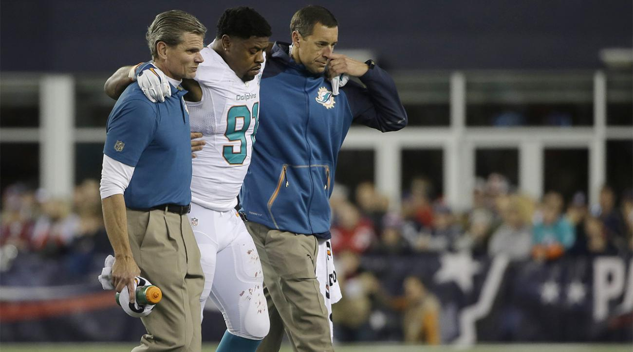 Report: Dolphins DE Cameron Wake out for season with torn achilles IMAGE