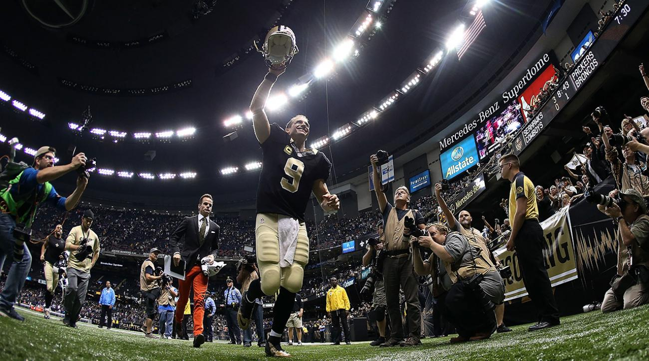 Is Drew Brees back?