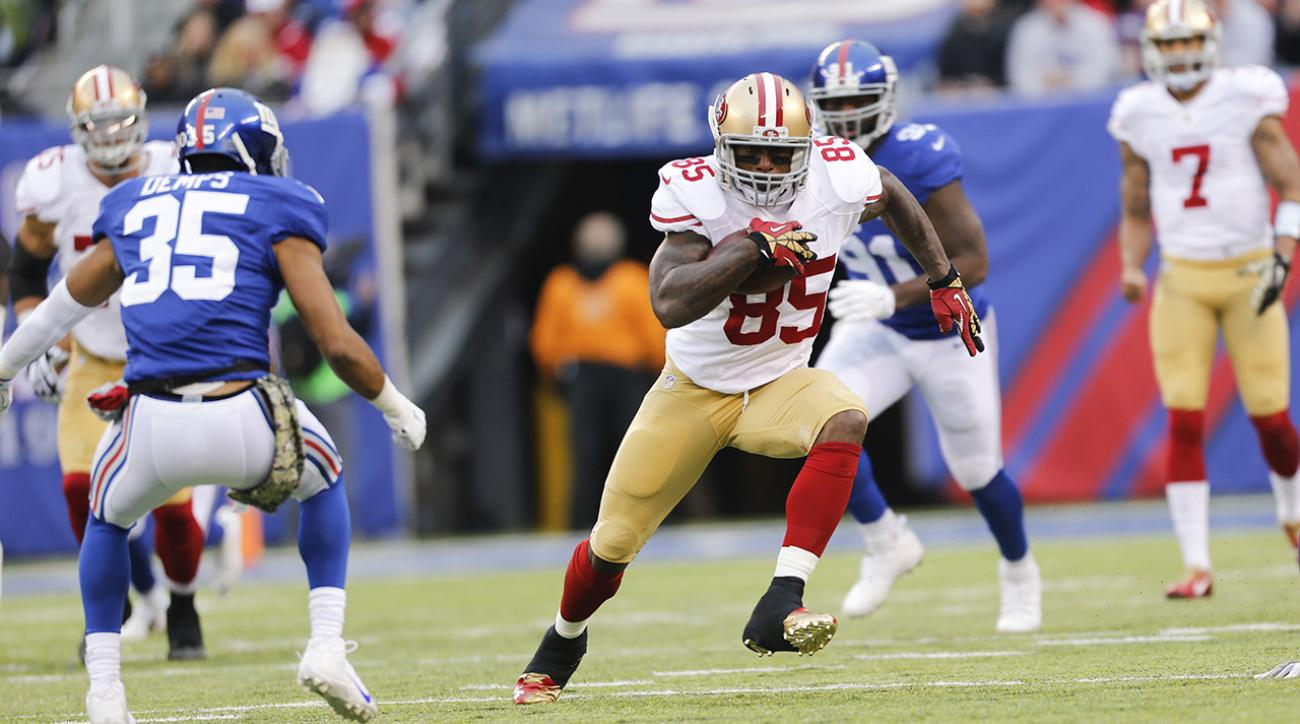 San Francisco 49ers trade Vernon Davis to Denver Broncos IMAGE