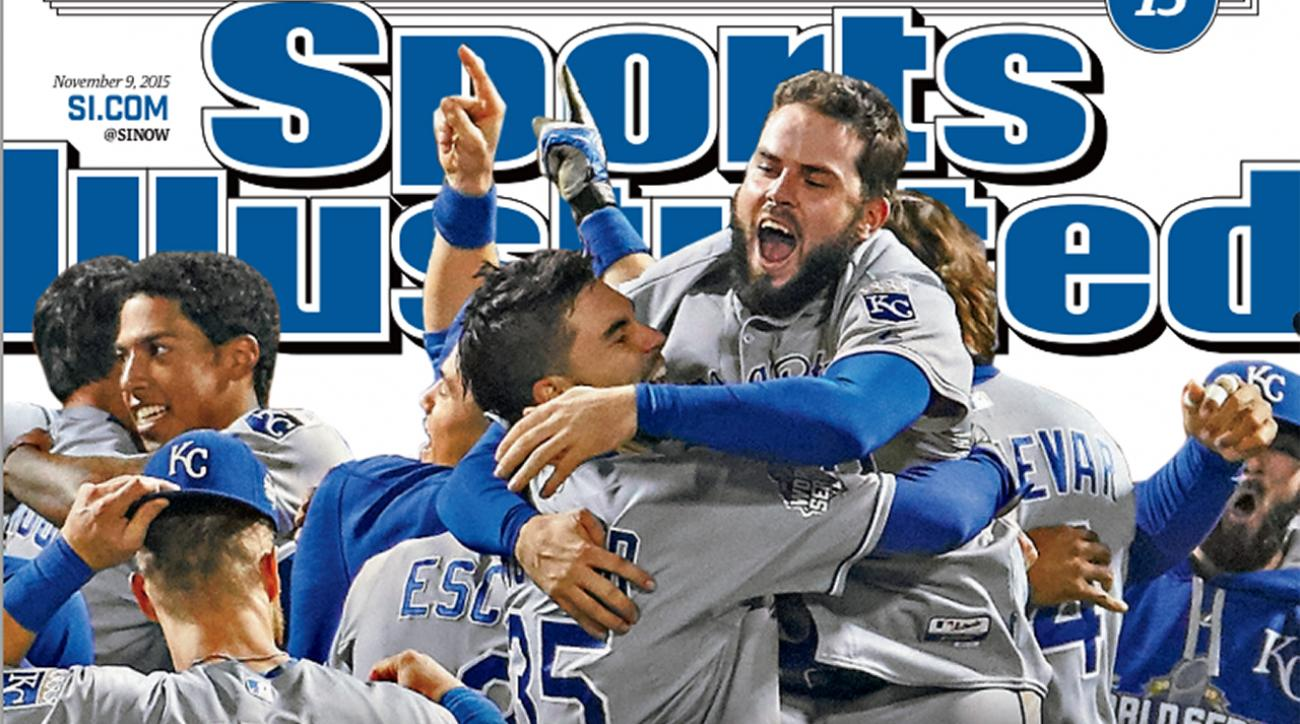 World Series Champion Royals land SI Cover