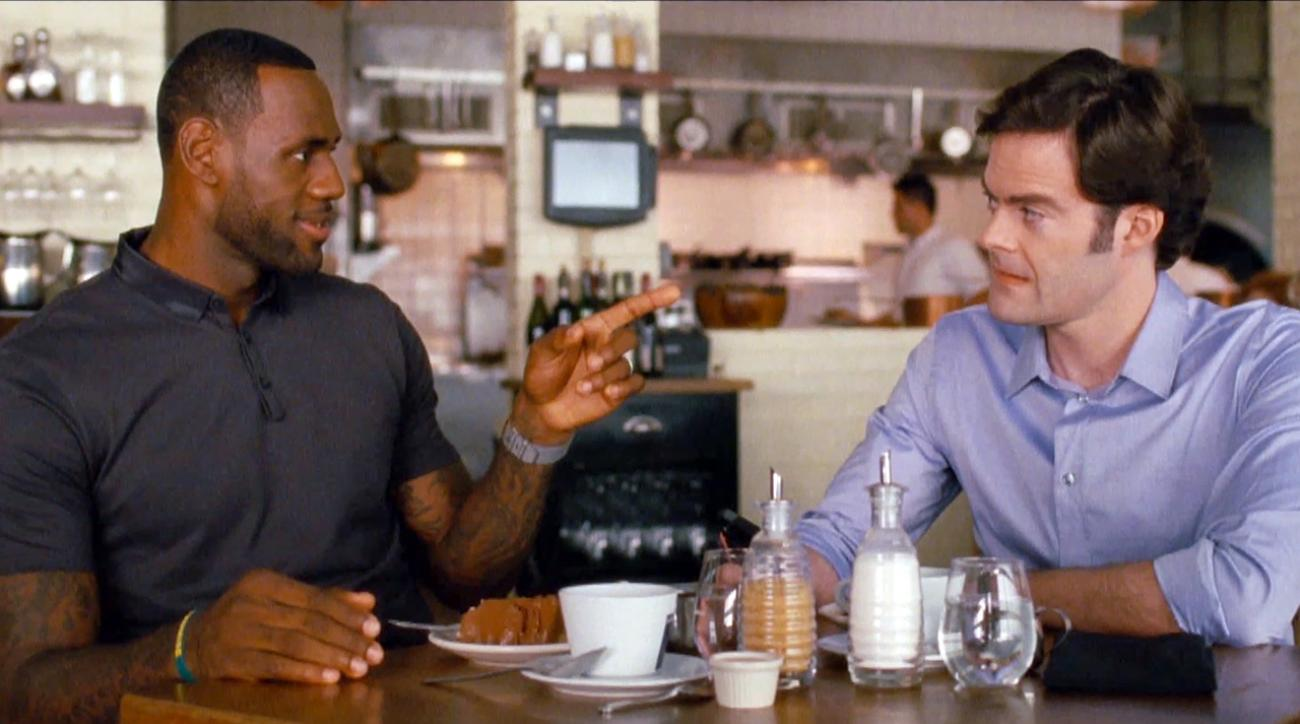 LeBron James and Bill Hader enjoy an intimate lunch together IMG