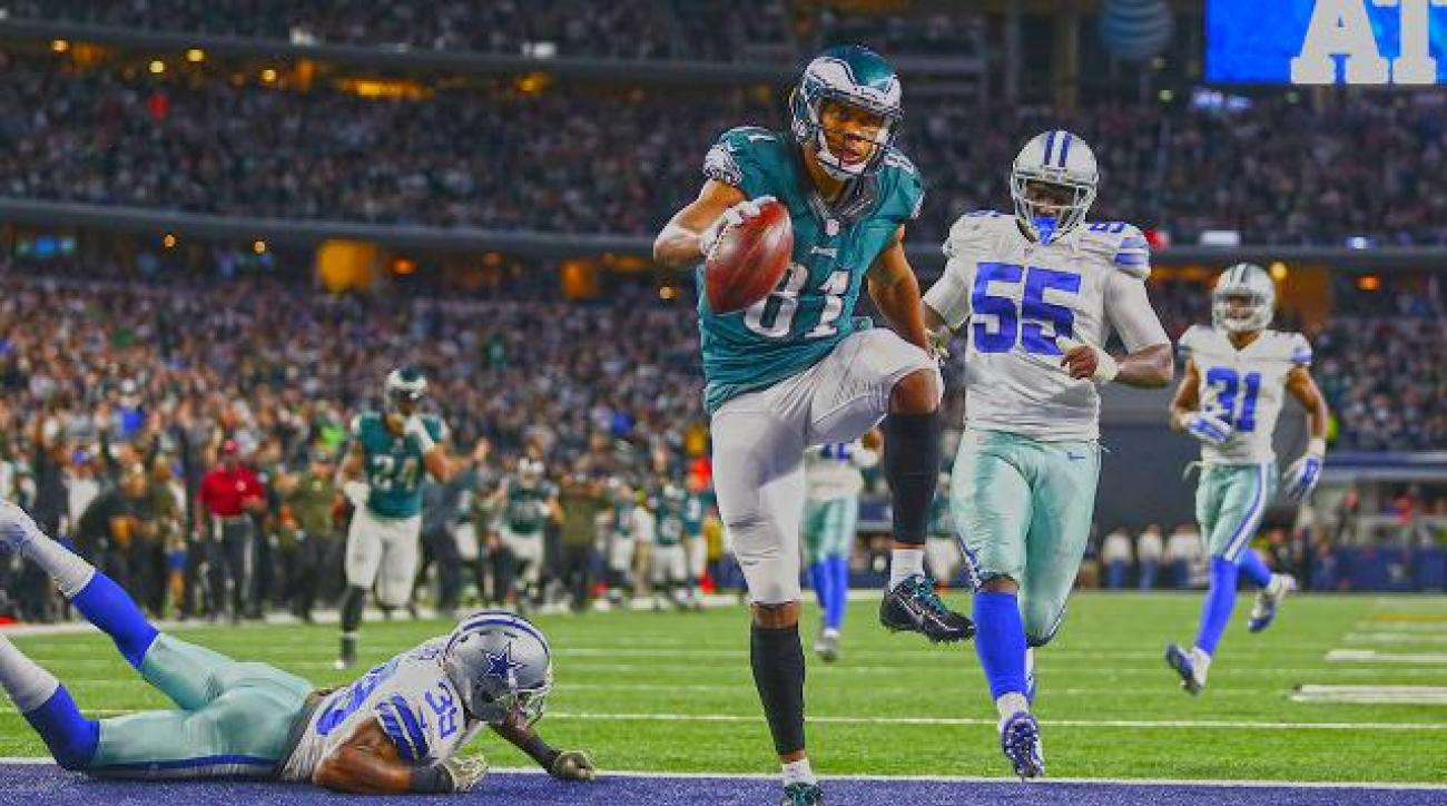 Philadelphia Eagles beat Dallas Cowboys 33-27 in overtime