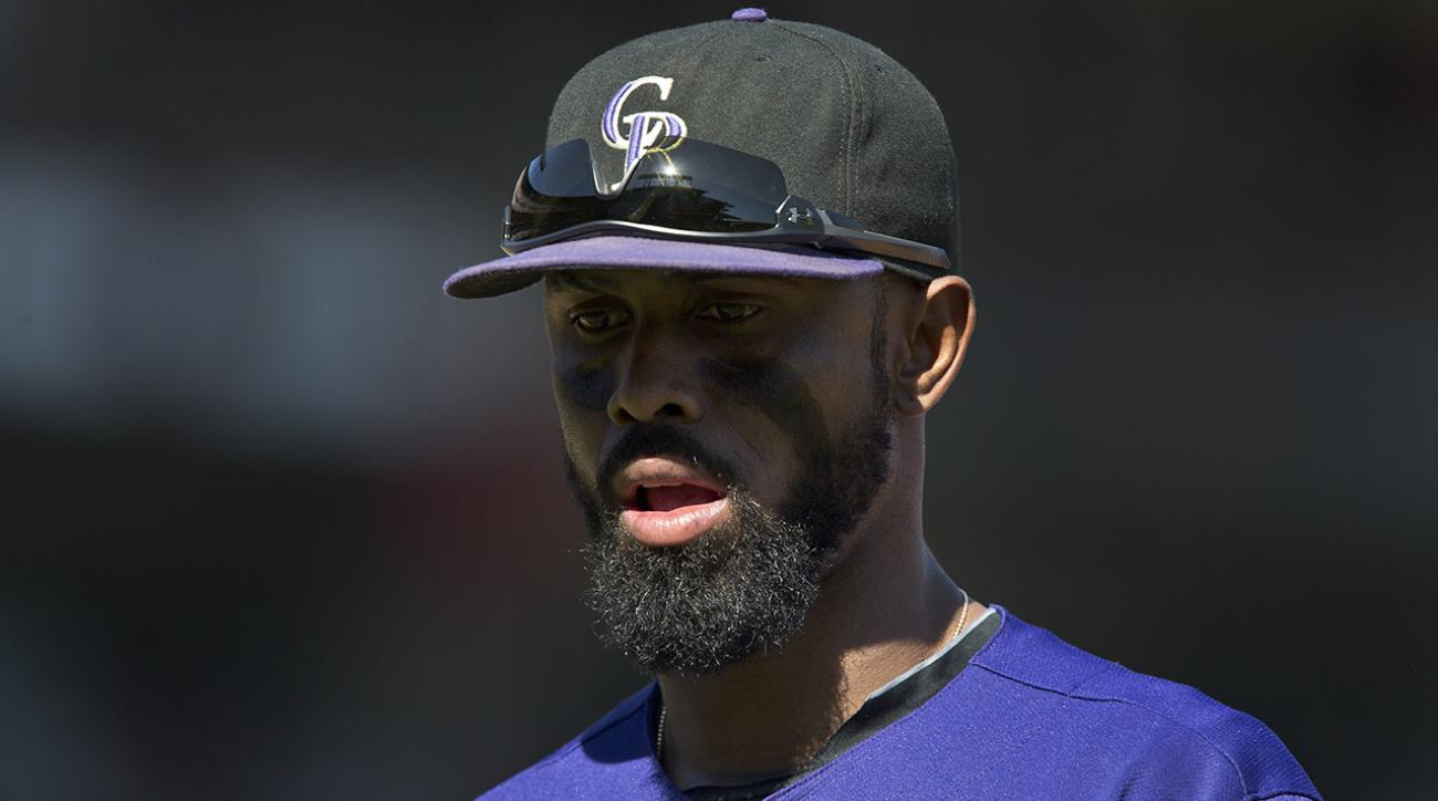 Report: Rockies shortstop Jose Reyes arrested for domestic abuse IMAGE