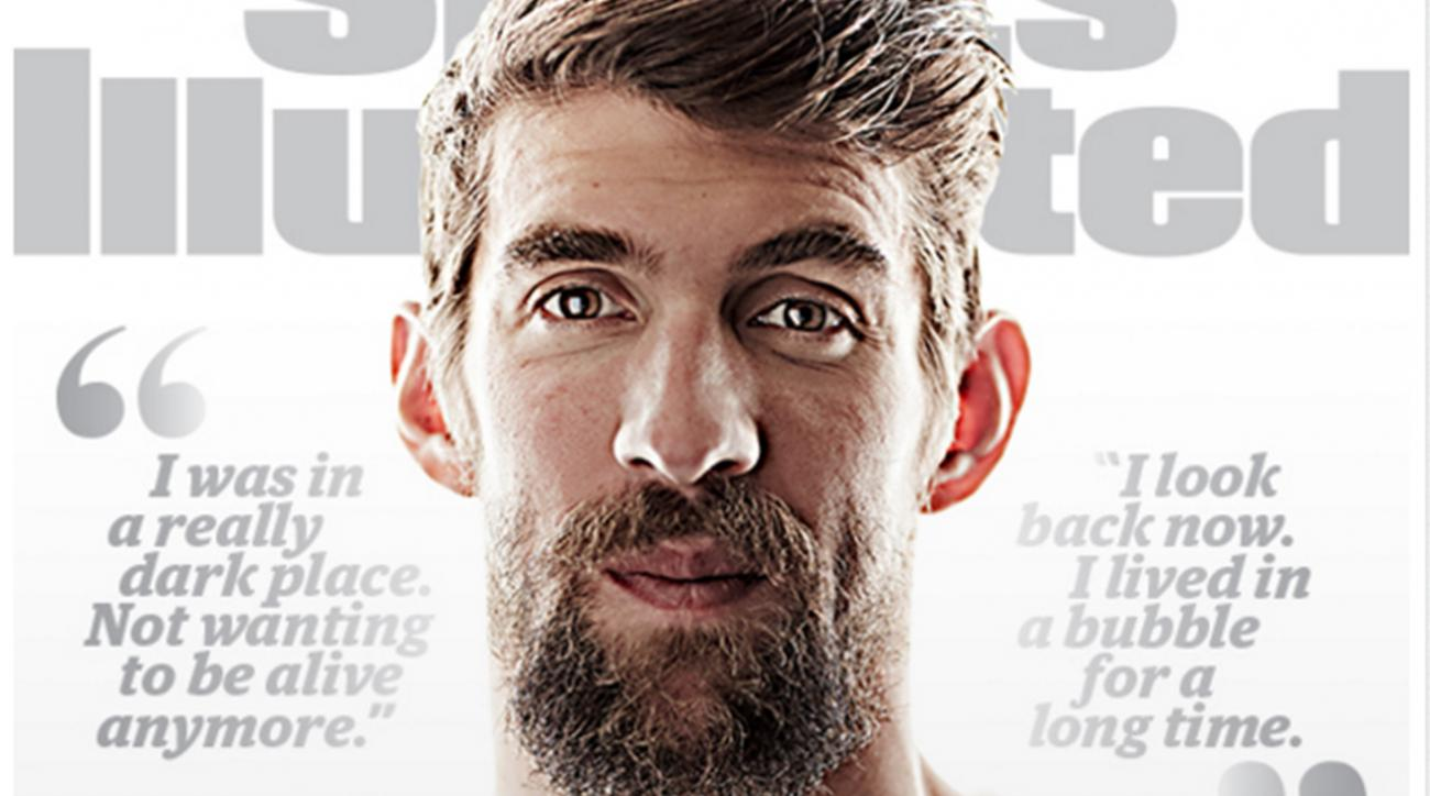 Olympian Michael Phelps lands SI cover