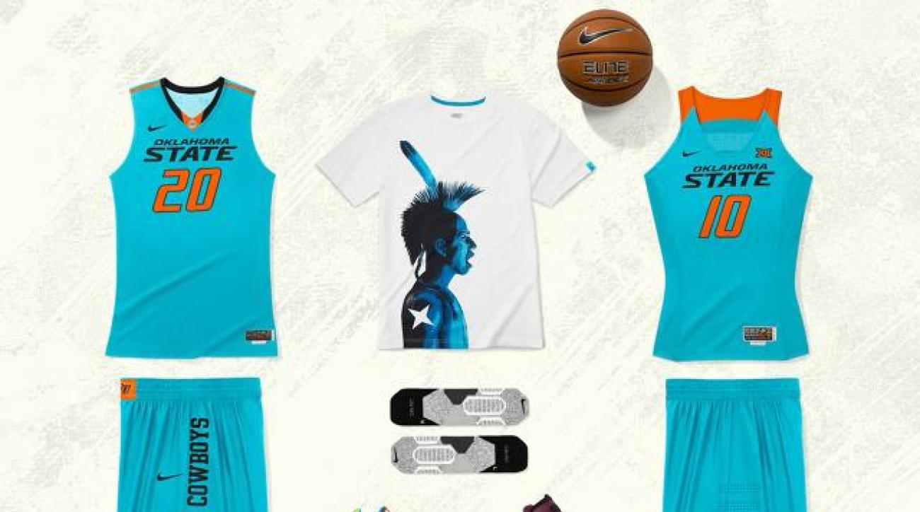 new arrival c6e66 8dd01 Oklahoma State to wear uniforms honoring Native American heritage