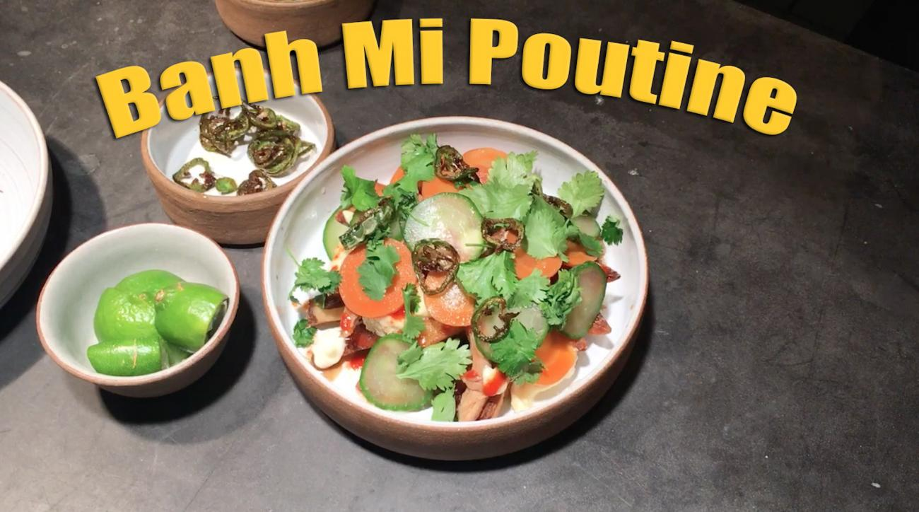 Mustard Minute: 'Knife Fight' host Ilan Hall shows how to cook Banh Mi Poutine IMG