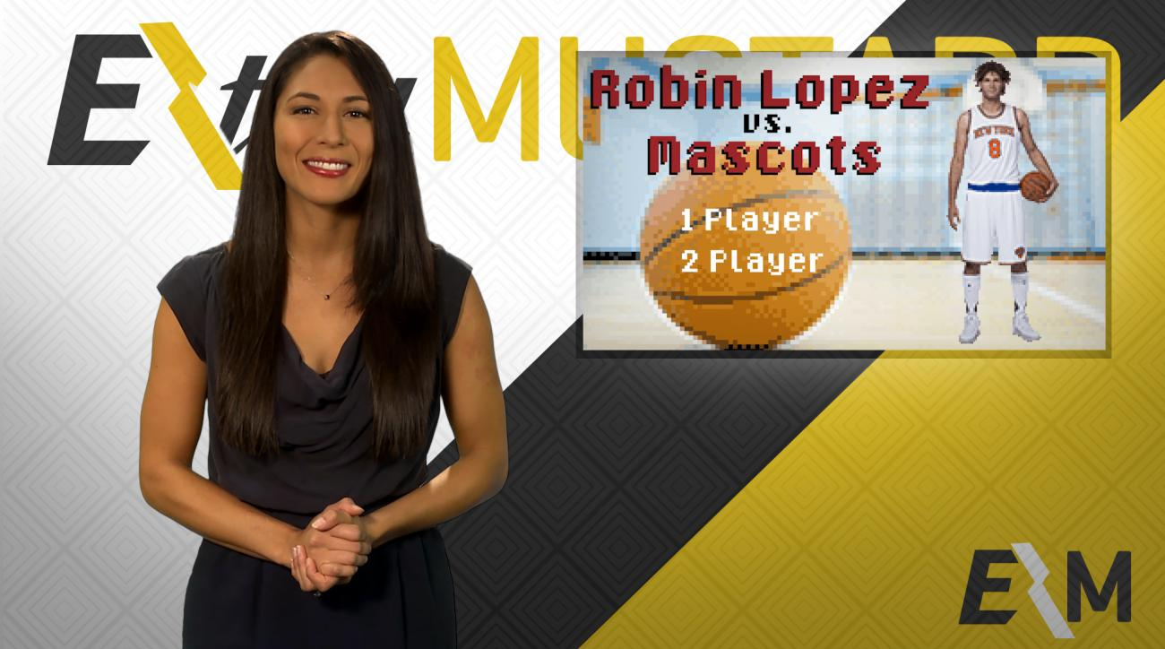 Mustard Minute: Robin Lopez vs. Mascots, the video game IMG