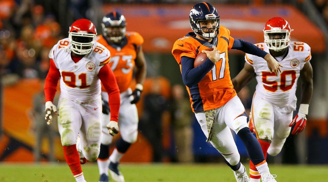 Brock Osweiler will be Denver Broncos starting QB vs Bears IMAGE