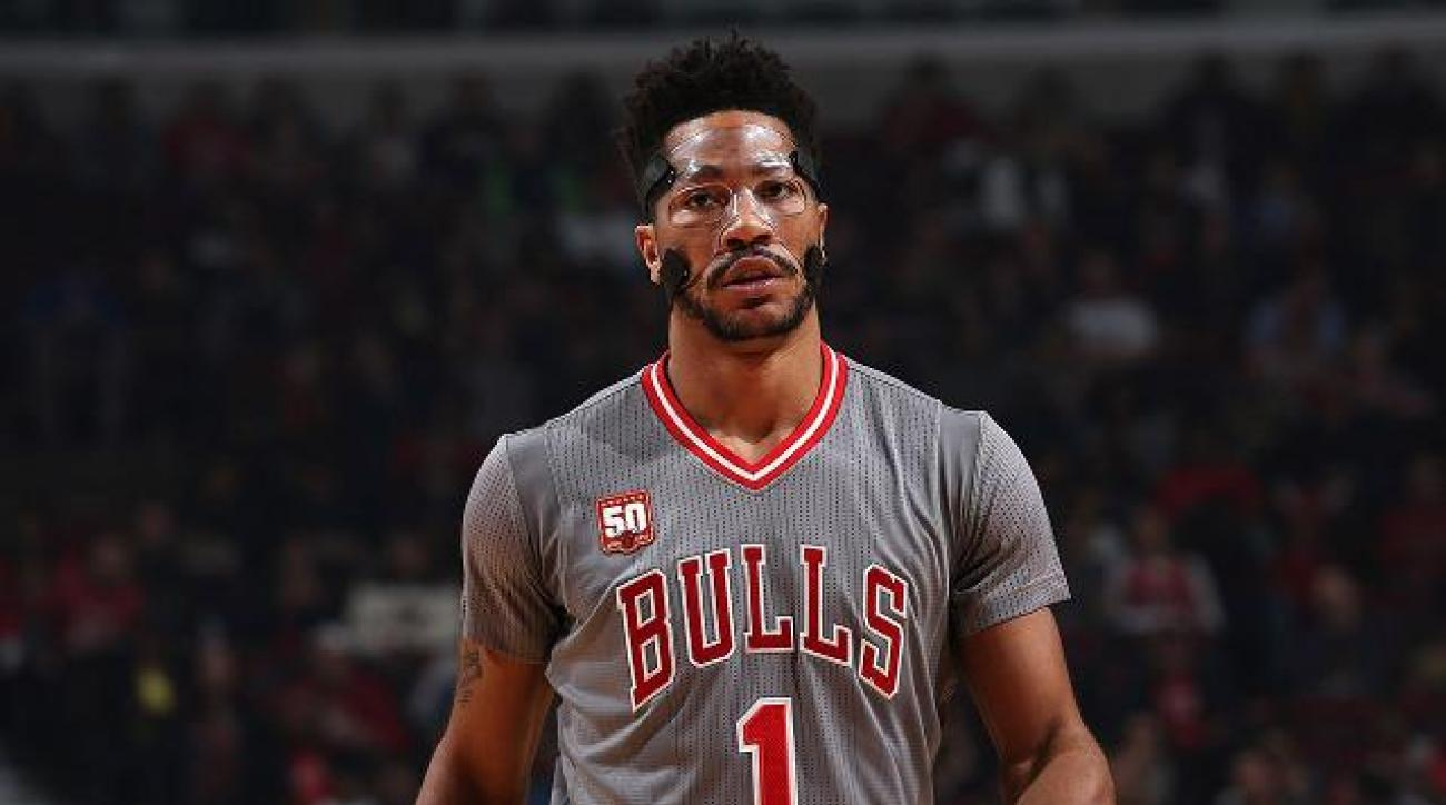 Bulls G Derrick Rose not concerned about ankle injury