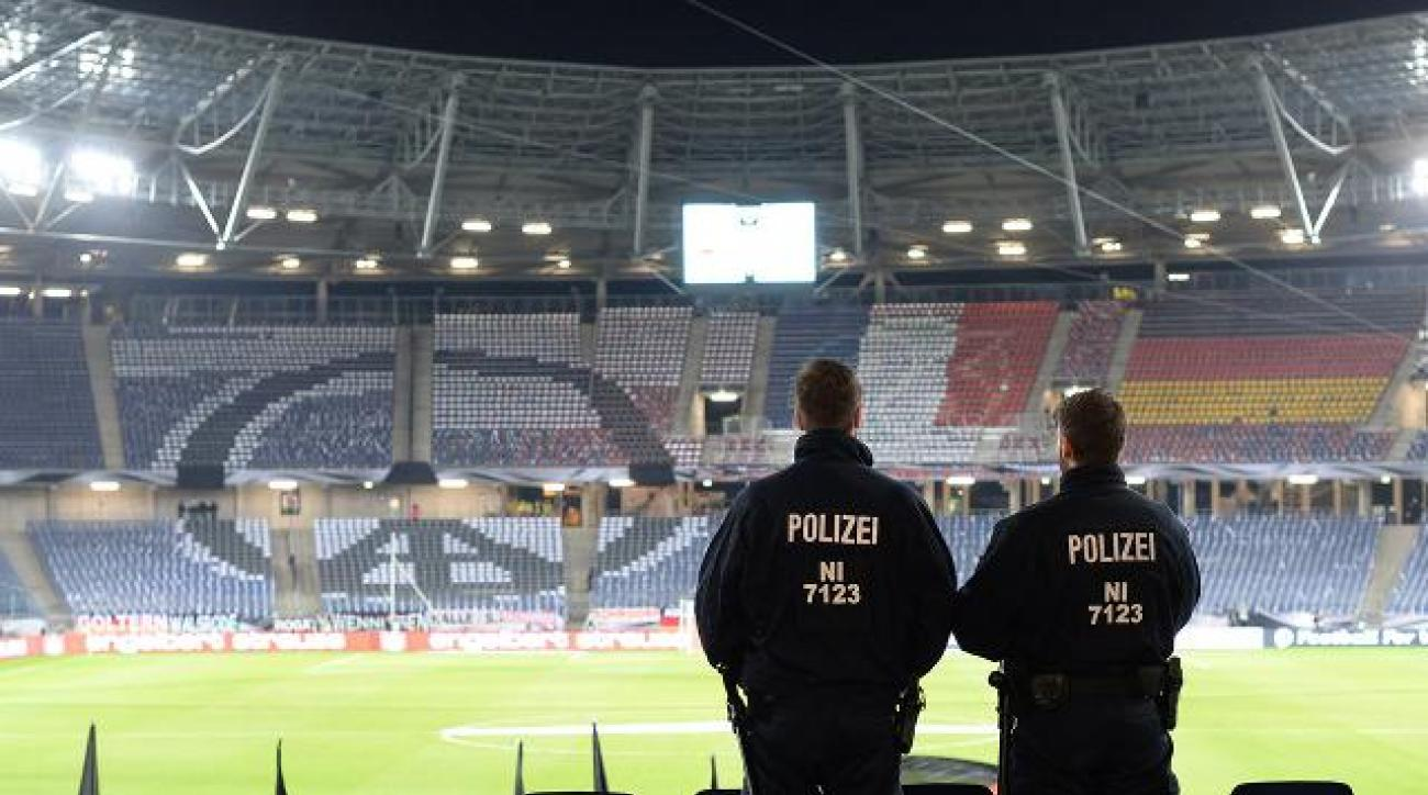 Germany vs. Netherlands friendly canceled, arena evacuated