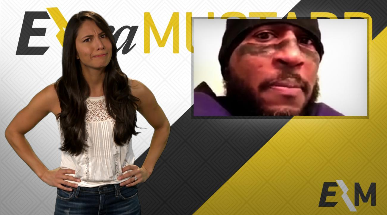 Mustard Minute: Ray Lewis impersonator creates motivational video for Ronda Rousey IMG