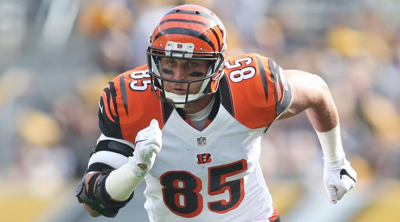 Tyler Eifert s journey back to the field after nasty elbow injury