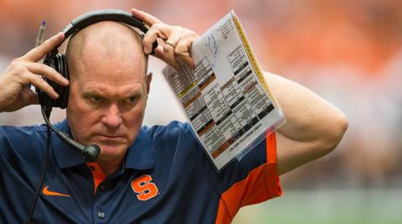 Scott Shafer out as Syracuse coach after season finale