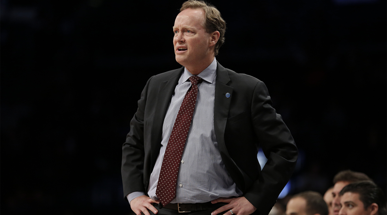 Hawks coach Mike Budenholzer fined $25,000 for bumping into ref IMAGE