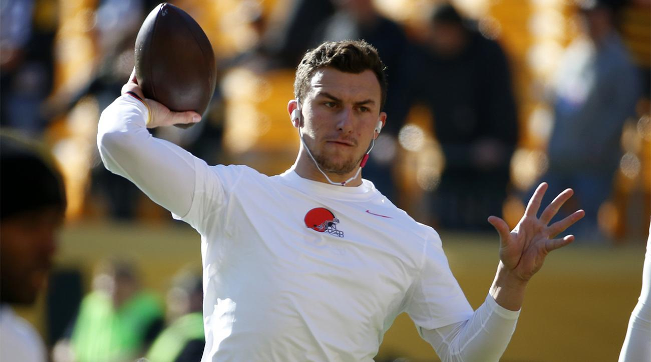 Browns demote Johnny Manziel after video surfaces of QB partying IMAGE
