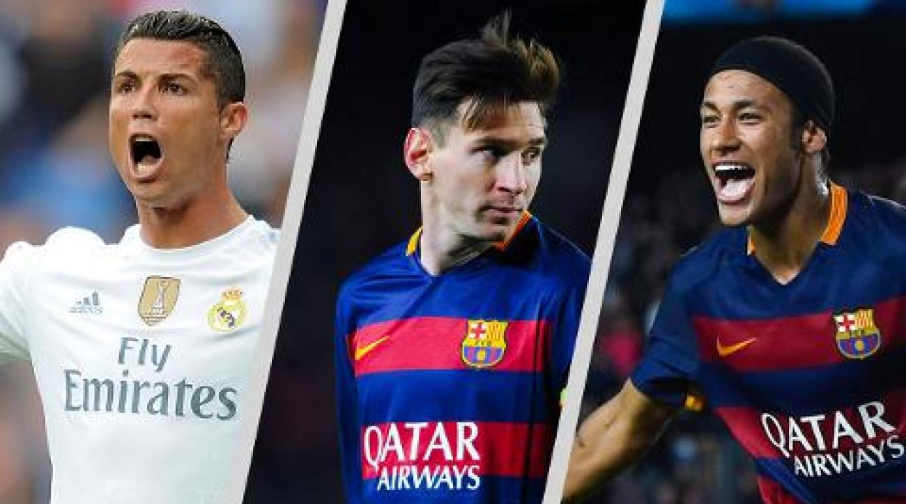 Messi, Ronaldo, Neymar named finalists for Ballon d'Or