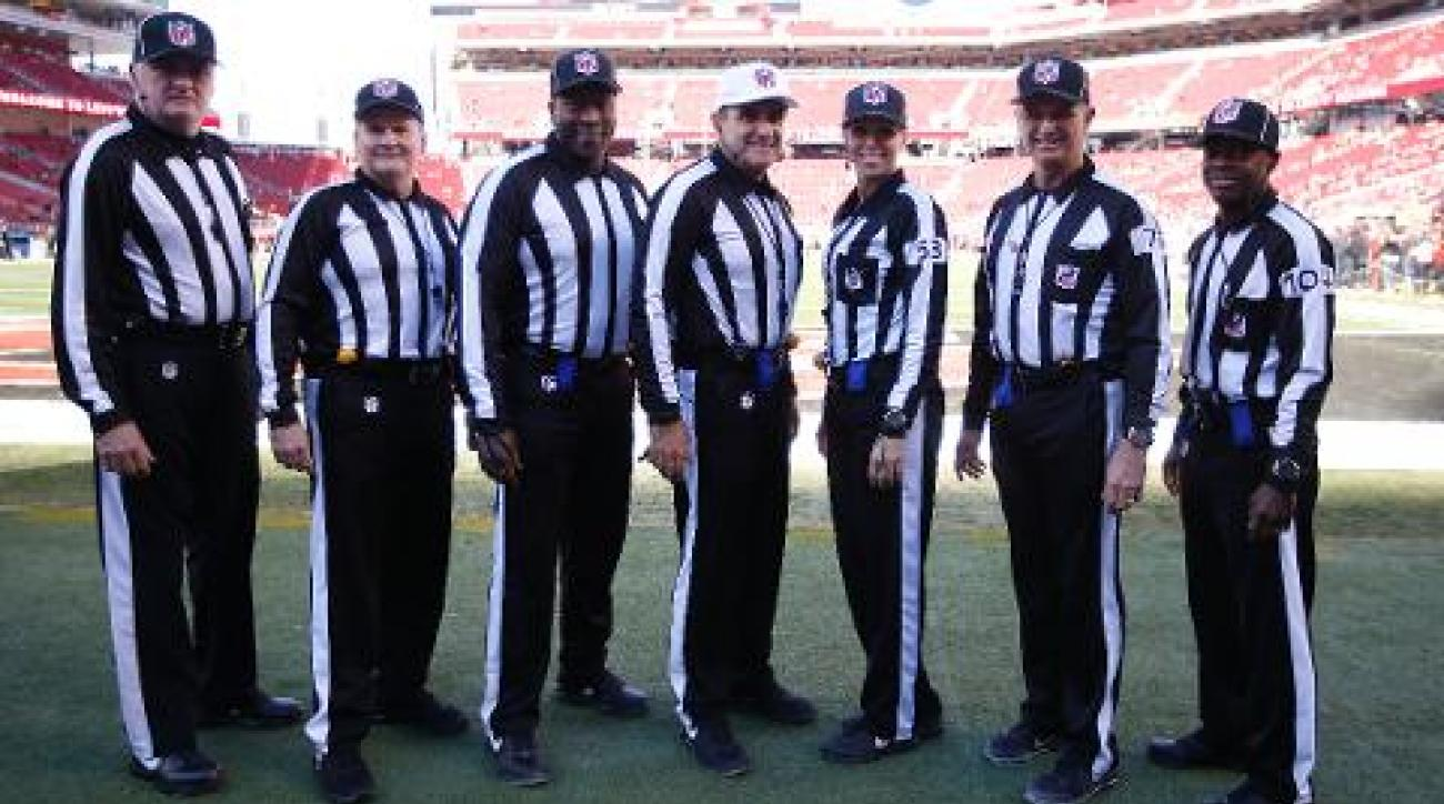 Officiating crew pulled from Sunday's Colts vs. Steelers game