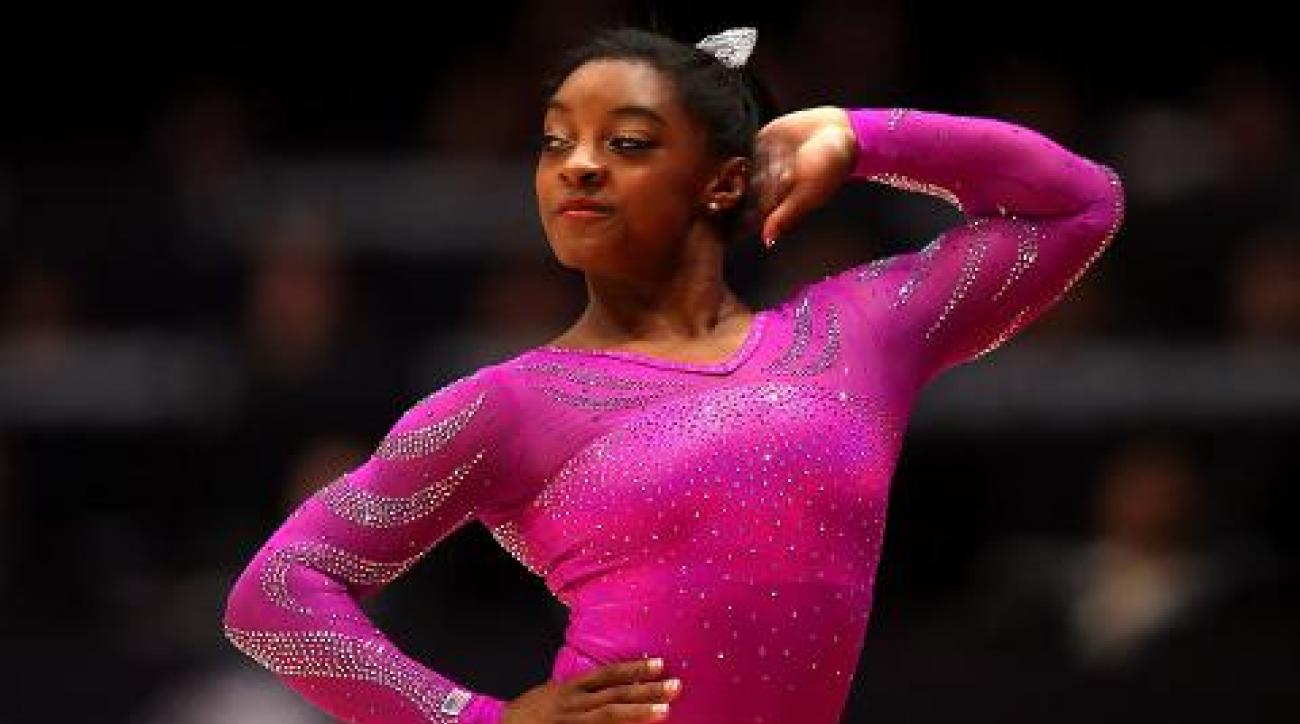 Sportsman of the Year contender: Simone Biles