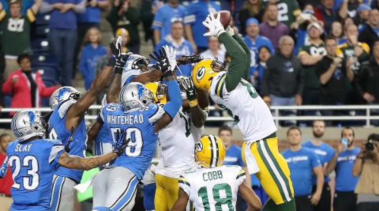 Green Bay Packers stun Detroit Lions on Aaron Rodgers' Hail Mary TD | SI.com