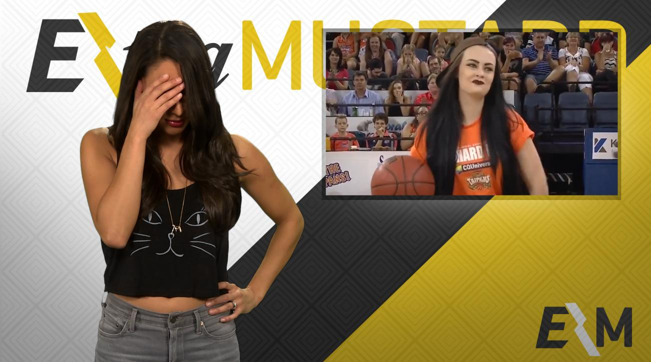 Mustard Minute: Worst halftime shot ever IMG