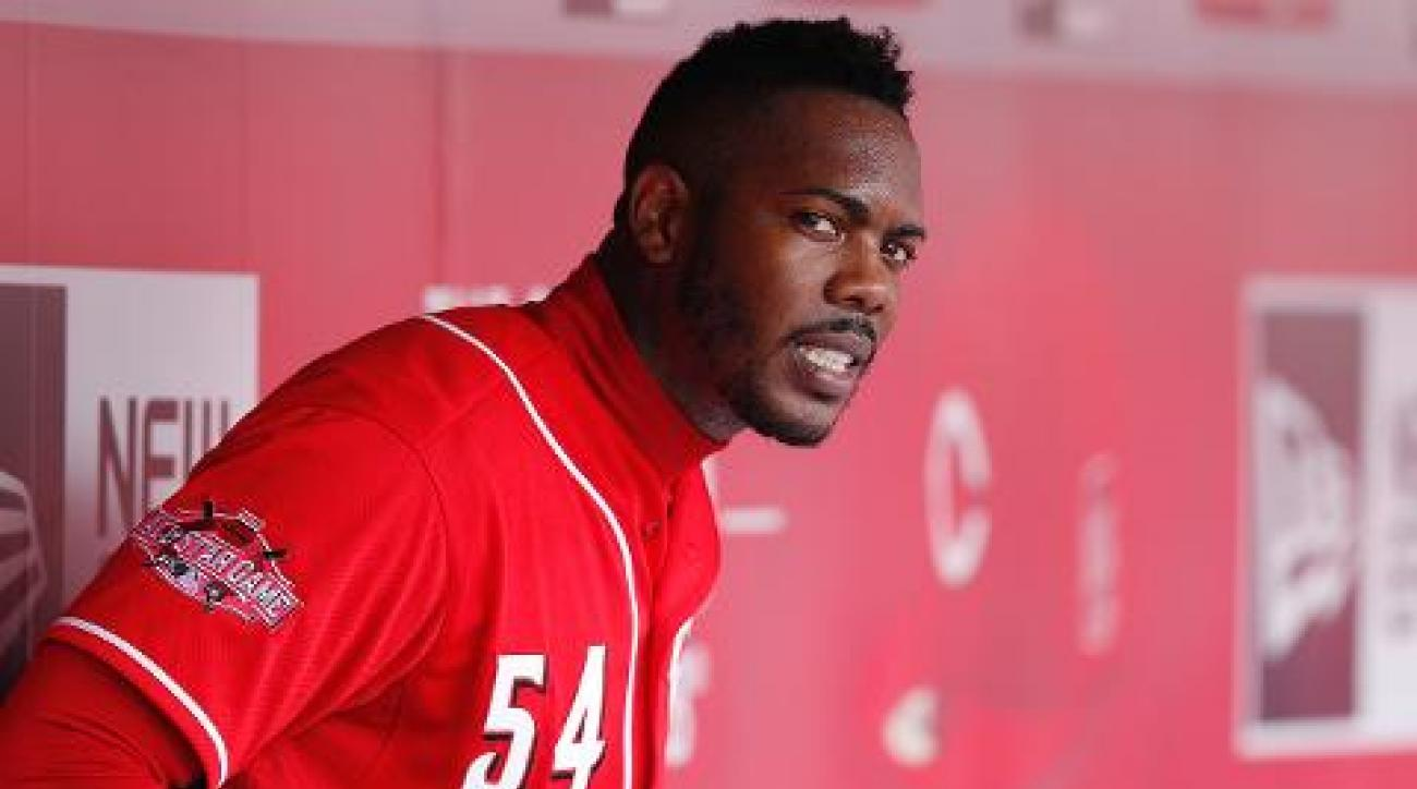 Report: Aroldis Chapman trade held up over domestic violence allegations IMAGE