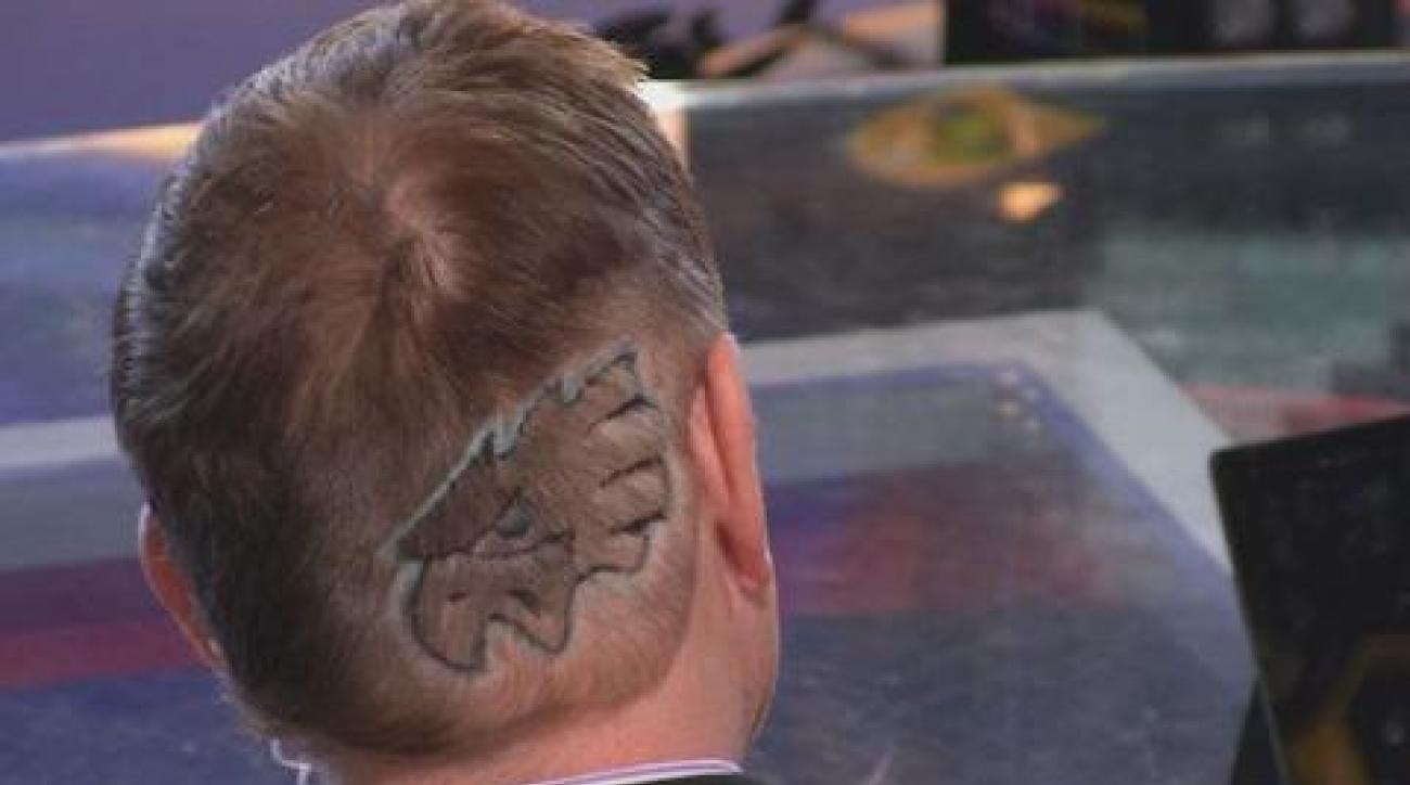 Philly newscasters lose bet, shave their heads after Eagles win