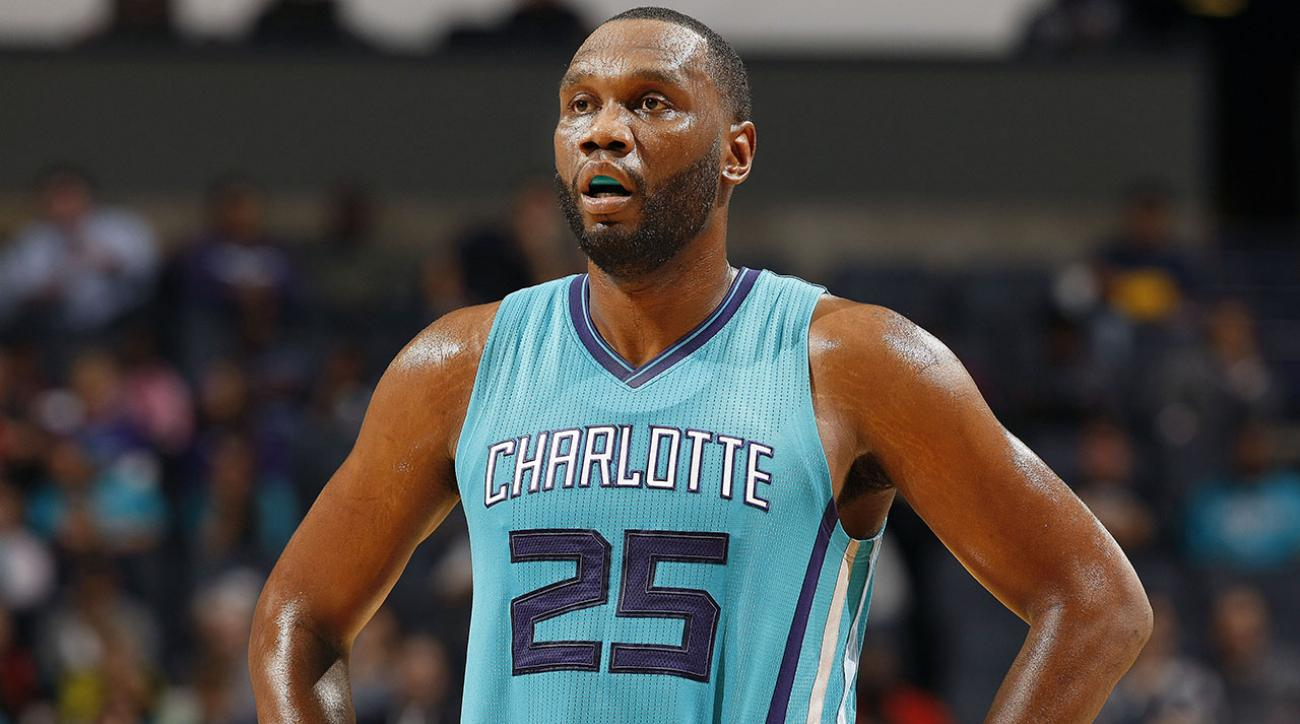 Hornets Al Jefferson suspended five games for violating drug policy IMAGE