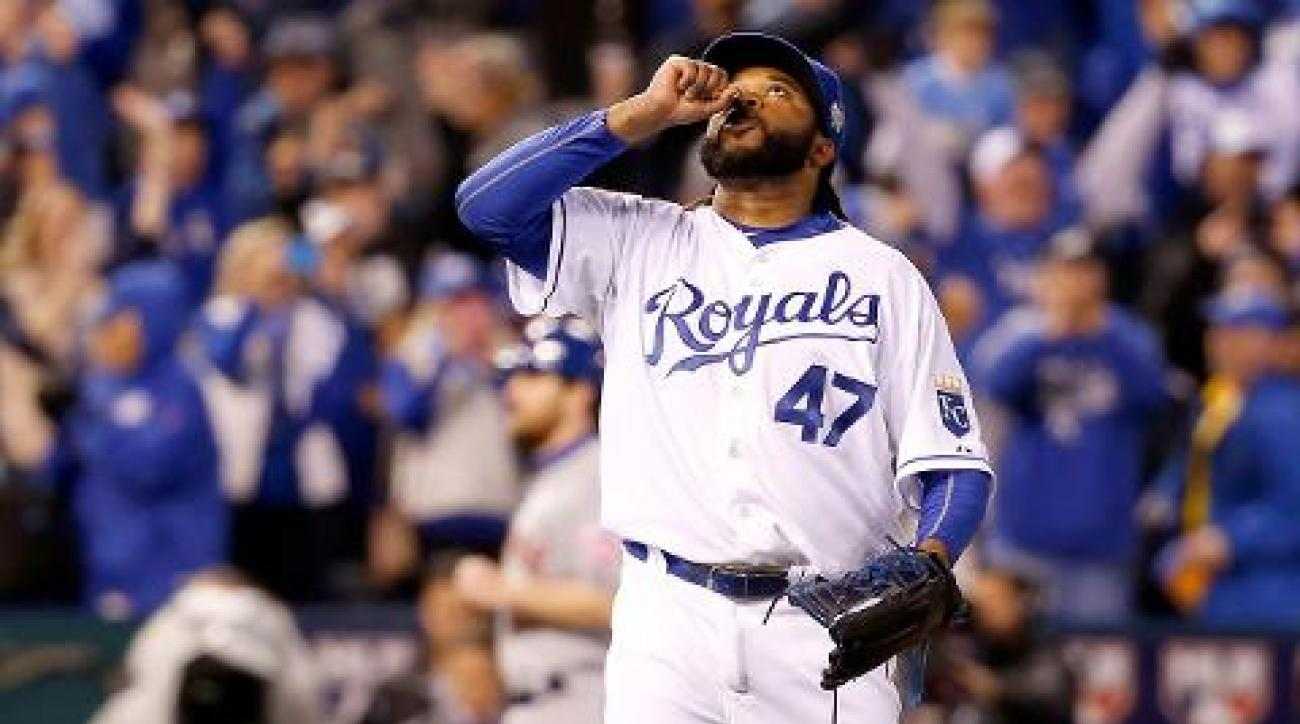 San Francisco Giants sign pitcher Johnny Cueto to six-year deal IMAGE