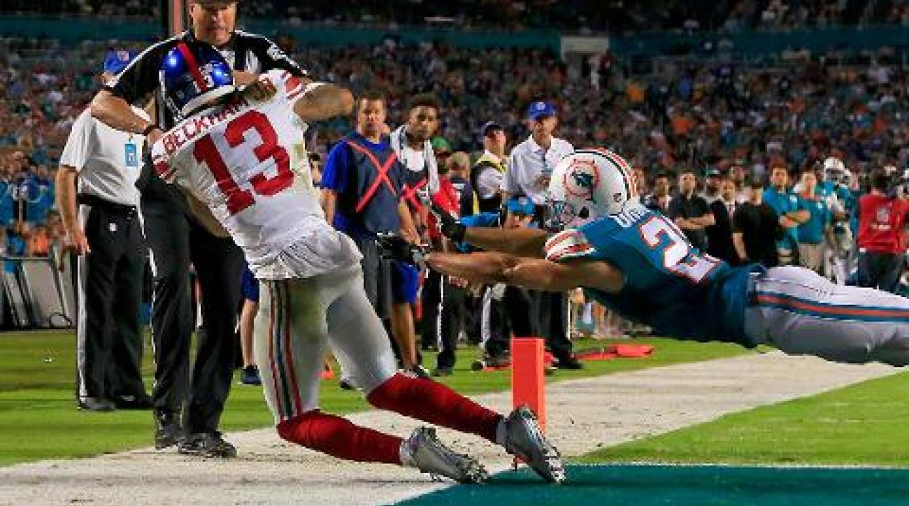 Eli Manning, Odel Beckham Jr. lead Giants to 31-24 win over Dolphins