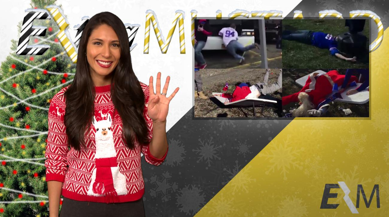 Mustard Minute's 12 Sports Nays of Christmas Day 4: 4 drunk Bills fans IMG