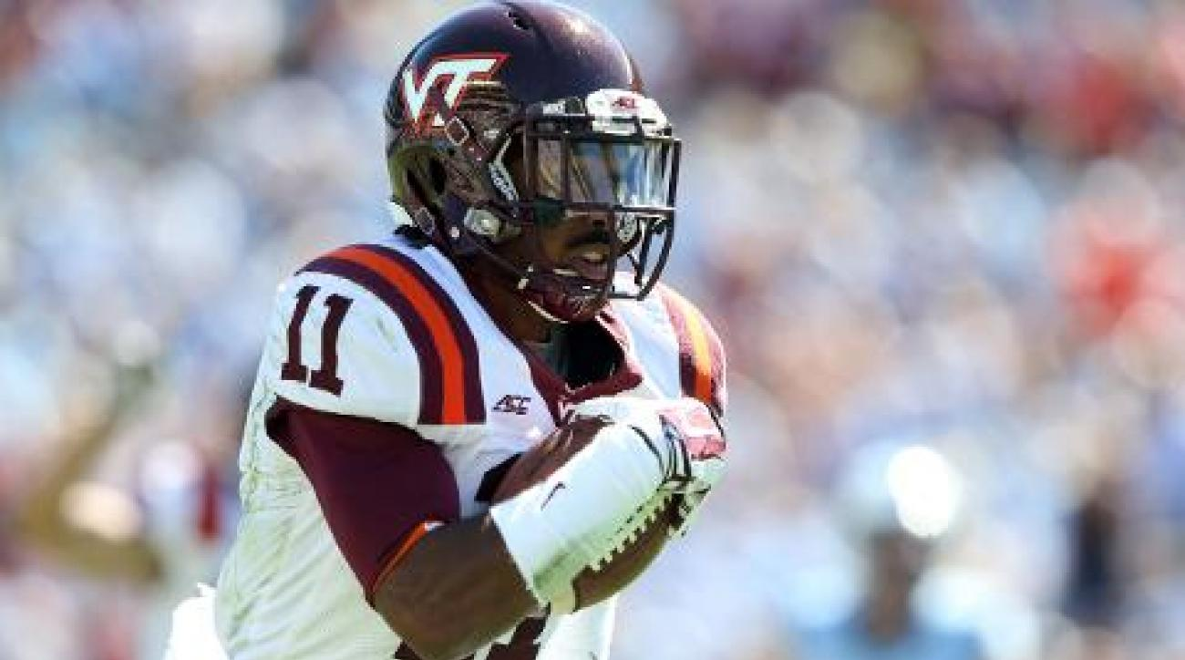 Virginia Tech cornerback Kendall Fuller declares for NFL draft IMAGE