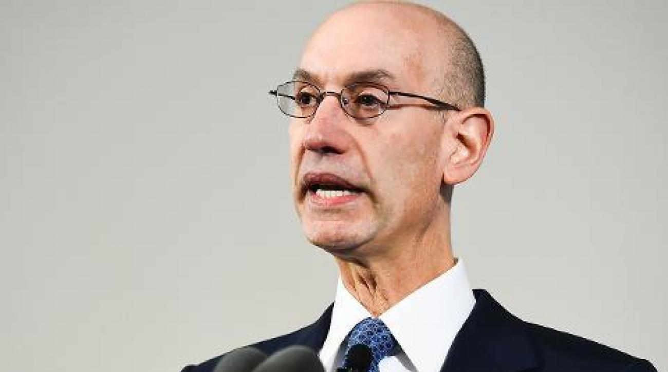Adam Silver continues calling for regulation of daily fantasy sports IMAGE