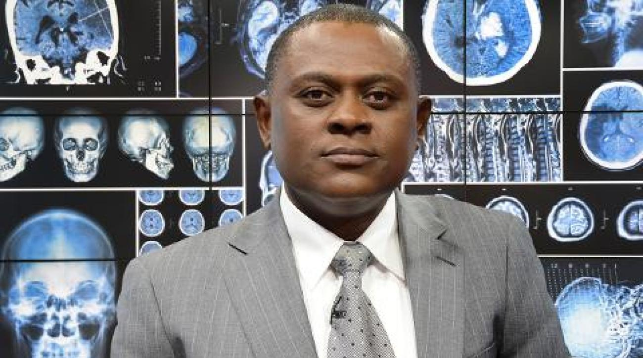 Dr. Bennet Omalu: Over 90% of NFL players have some degree of CTE IMAGE