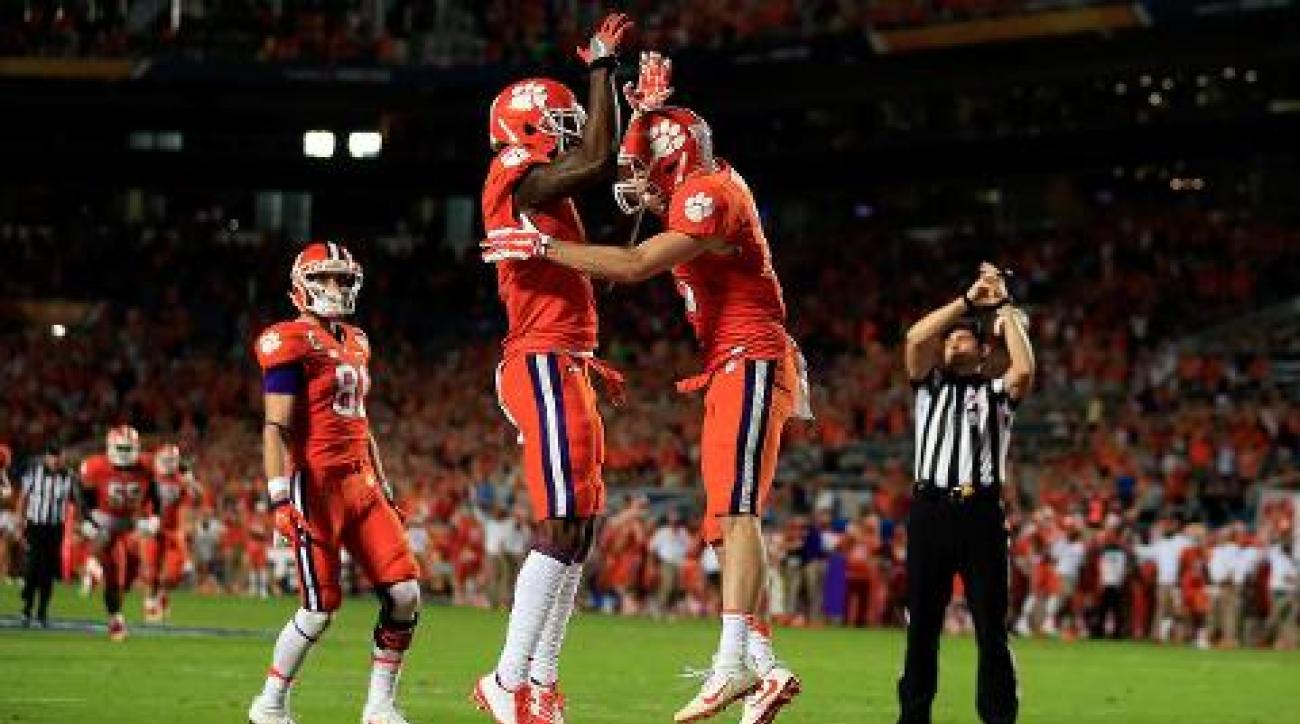Sooners lose to Clemson 37-17 in Orange Bowl semifinal game IMAGE