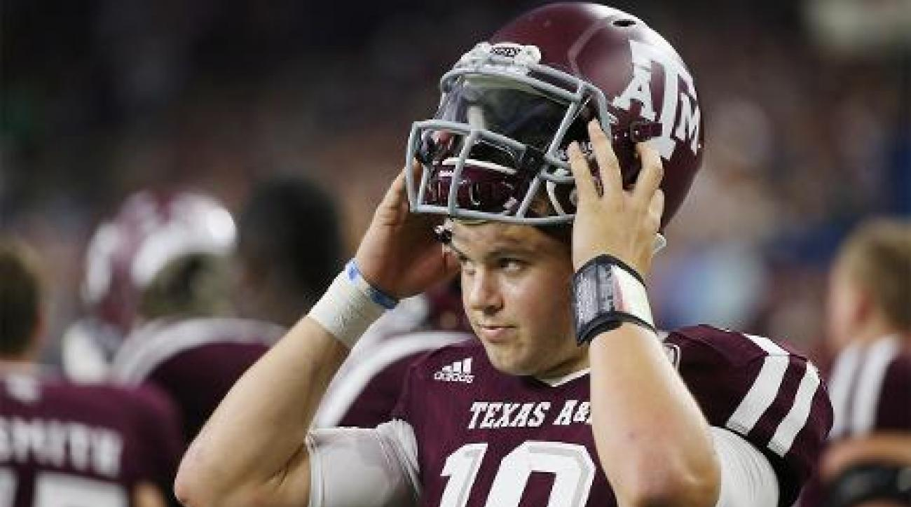 Reports: Texas A&M QB Kyle Allen transferring to Houston IMAGE