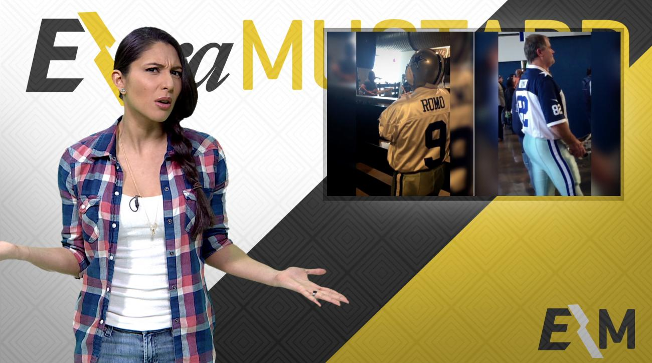 Mustard Minute: Would you ever wear full team uniform to NFL game? IMG