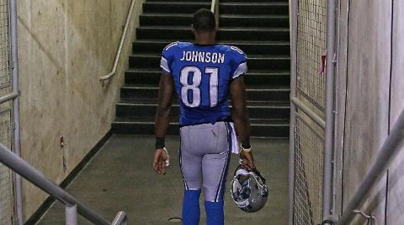 Detroit Lions WR Calvin Johnson considering retirement