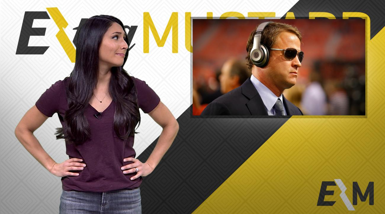 Mustard Minute: Lane Kiffin enters National Championship like a champ, leaves like a chump IMG
