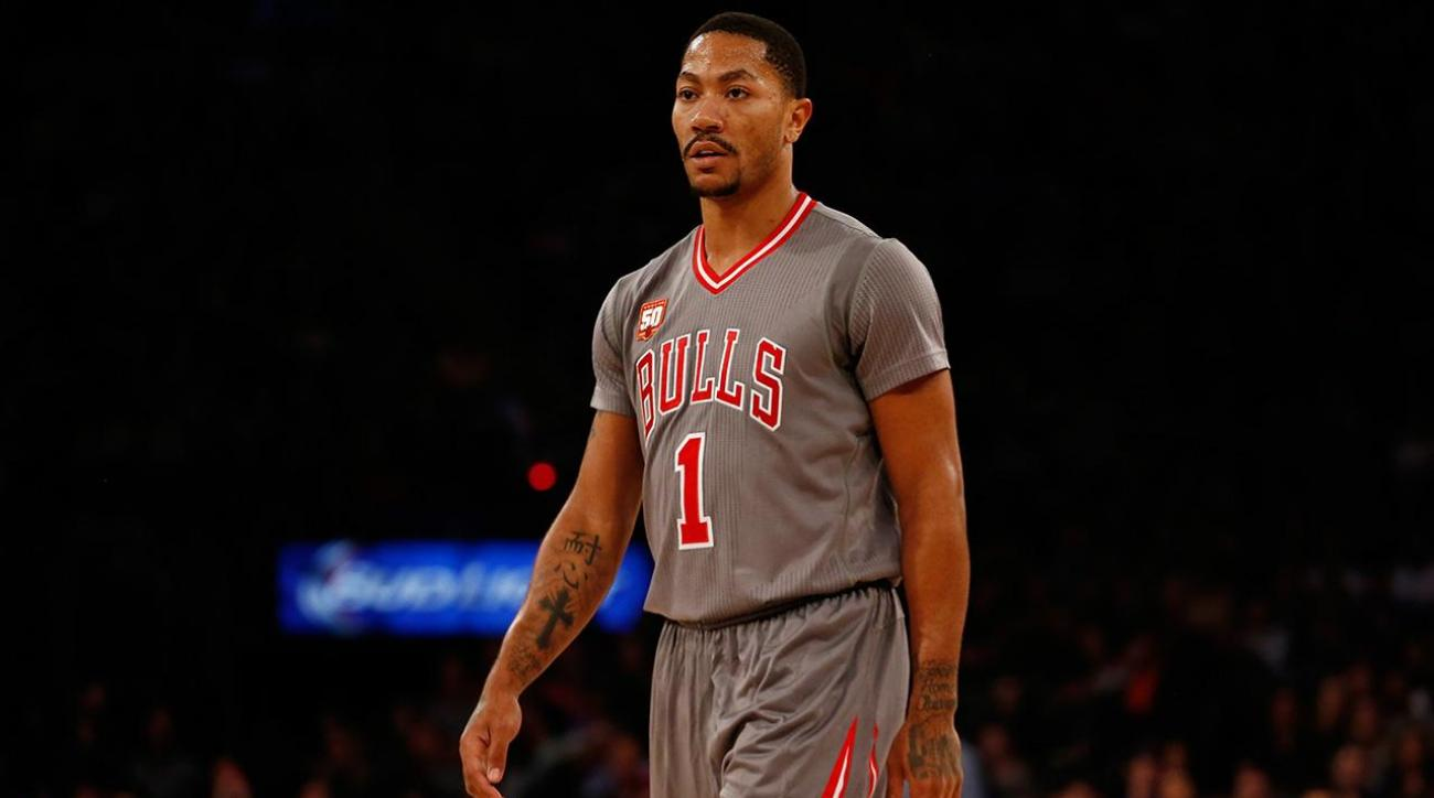 Derrick Rose says he wants to remain with Bulls for entire career