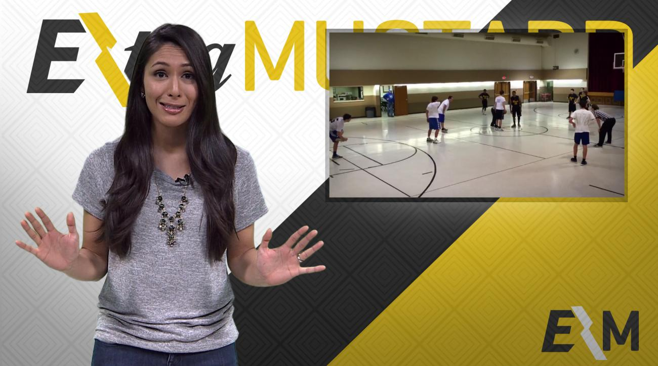 Mustard Minute: The best rec league basketball trick play ever IMG