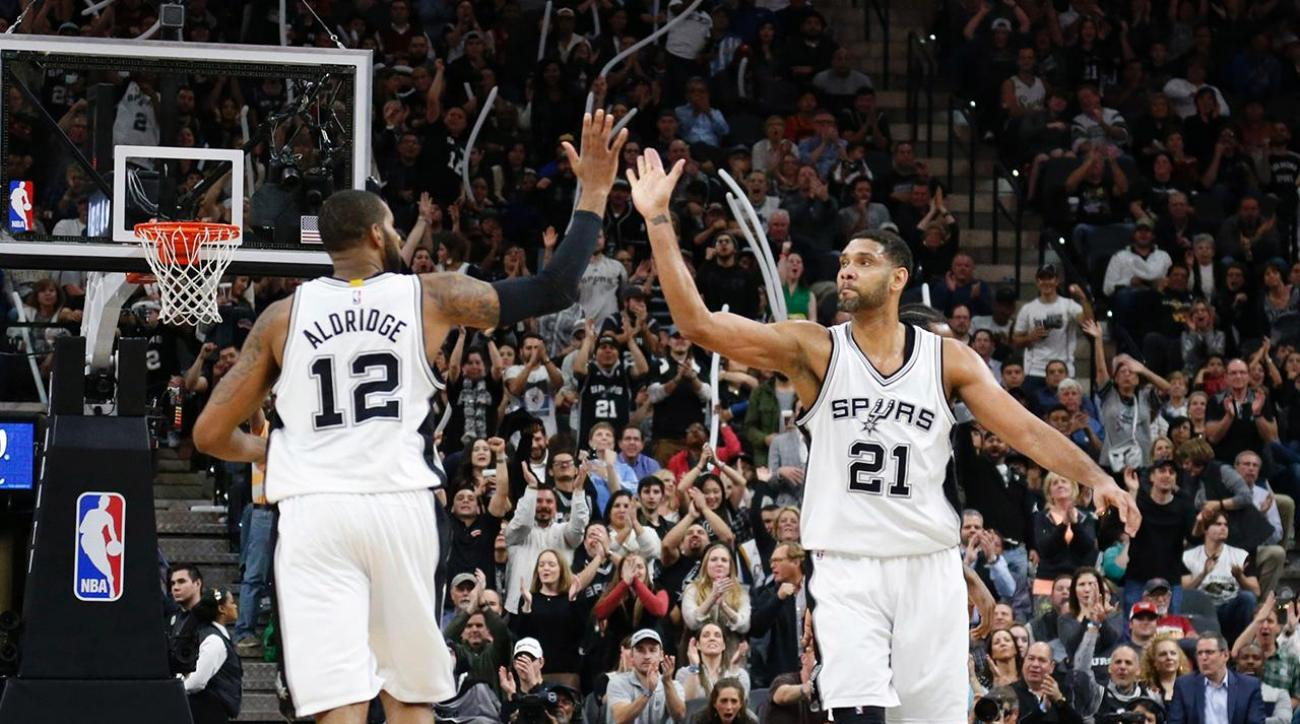 NBA Power Rankings: Spurs take top spot from Warriors
