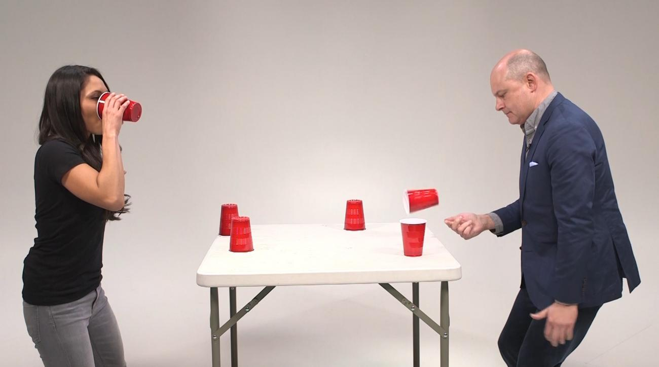Mustard Minute: Flip Cup with actor Rob Corddry IMG